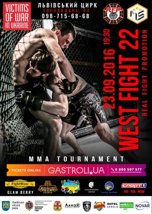 West Fight 22 Poster - Real Fight Promotion